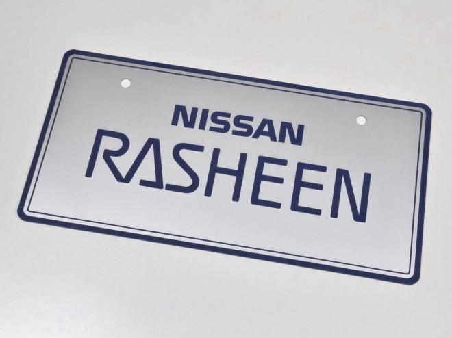 RASHEEN ネームプレート『新品』