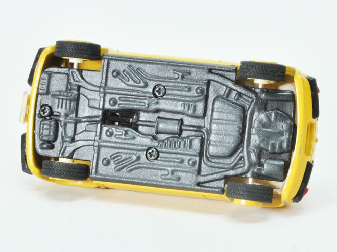 Be-1 1/43 バンダイ製 ハイセレクションメタルモデル 組立済 パンプキンイエロー