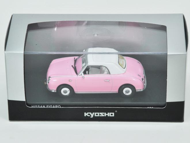 FIGARO 1/43 Kyosho製 336pcs限定 クローズトップ ピンクモデル