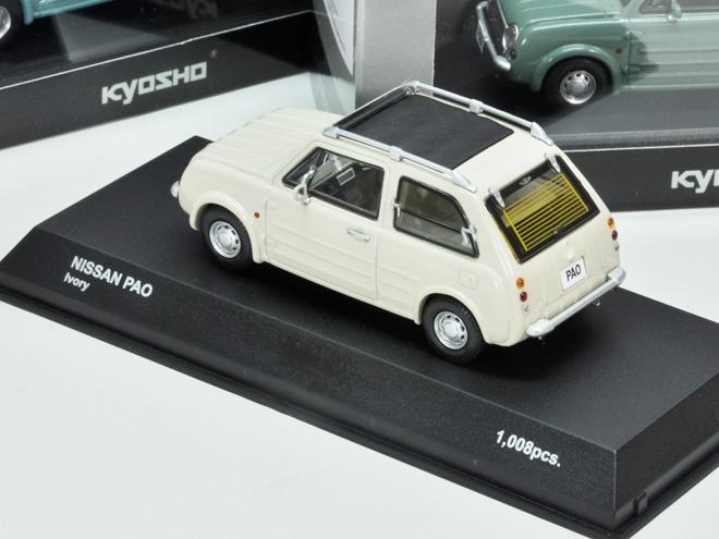 PAO 1/43 Kyosho製 1008pcs限定 キャンバストップモデル