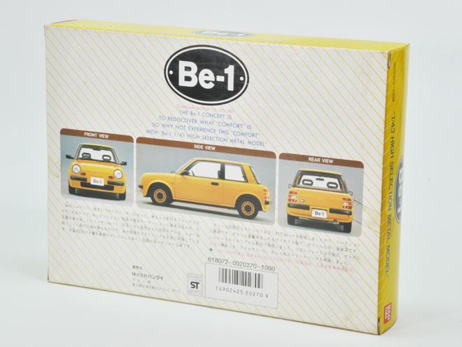 バンダイ製Be−1。1/43ダイキャスト製塗装済みの組立キット